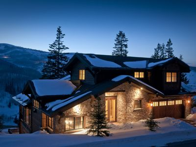 Photo for Floor to Ceiling Deer Valley Views! + Silverlake Shuttle, Hot Tub, Theatre & More