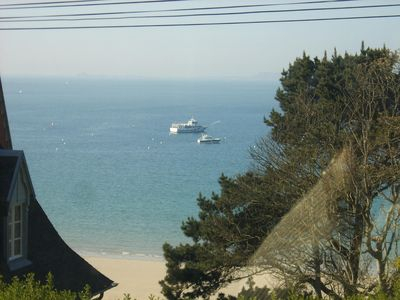 Photo for New apartment with sea view and seven Isles --3pièces 80 m2 trestraou