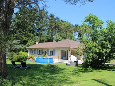 Photo for LUXURY RENTAL IN THE PYRENEES! LARGE SPACES WIFI TRAMPOLINE SWIMMING POOL
