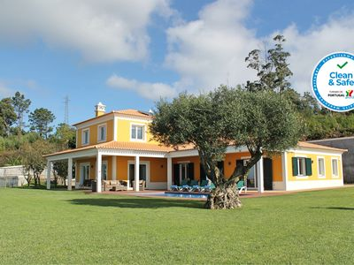 Photo for Magnificent & spacious, large garden, heated pool, seaview   Bellevue Villa