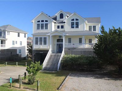 Photo for Beautiful Hatteras home with private pool, hot tub, pet friendly