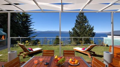 Photo for TD7 - Stunnning 3 Beddroom Apartment with incredible lake views and jacuzzi