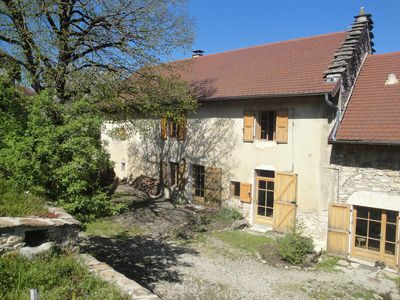 Photo for Eco cottage *** old stone farmhouse XVIII between Lyon and Chambéry