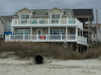 Photo for Magnificent Oceanfront With great views       Up & Down the Beach!!!!!!!!!!!