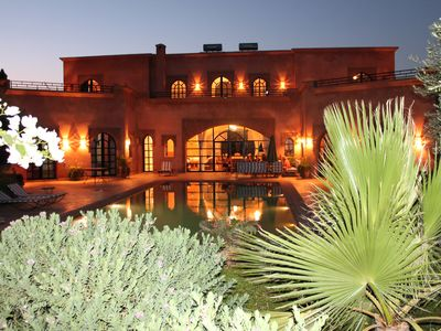 Photo for Marrakech Villa for 6-16 people - Exclusive Offer - 450 sq.m and 16 x 5.5 m pool