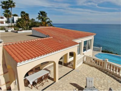 Photo for Luxury villa with its own swimming pool, directly by the sea, stairs to the sea and.