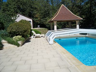 Photo for charming rental, pool, 2 people