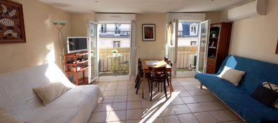 Photo for Bright, bright and air-conditioned apartment in the heart of Paris 5
