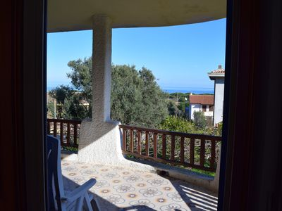 Photo for Holiday house with sea view, 8 people, private parking