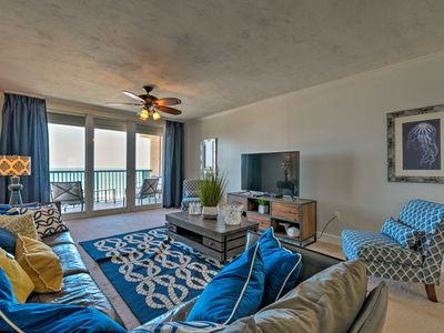 Photo for NEW! Oceanfront Daytona Beach Condo w/ Comm Pool!