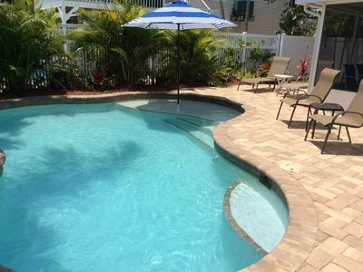 APRIL 2021 dates available!  Private Heated Pool - Close to the Beach!