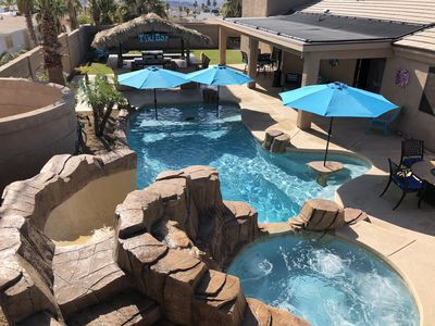 Photo for ~ Lake Havasu Paradise ~ New Furniture, Solar Heated Pool, Hot Tub, Tiki Bar ~