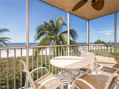 Photo for Estero Island Beach Villas 204, Sleeps 8, 2 Bedrooms, Gulf Front, Heated Pool