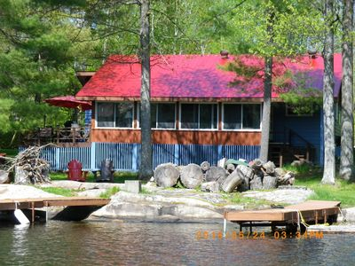 Photo for Muskoka, Big Chute with quiet south west exp.