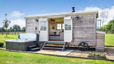 Photo for Shepherds Hut, Avon Farm Estate - sleeps 2 guests  in 1 bedroom