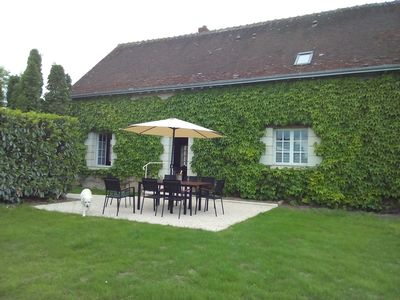 Photo for At the heart of Touraine, at the foot of Villandry Castle, 4 * gite and its park