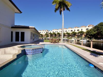 Photo for 'Beautiful Large 5 bedroom 5 bath home on the water w/ pool