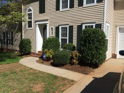 Photo for Walking distance to the charm of Main street Davidson, and a mile to Lake Norman