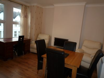 Photo for 4 Bedroom house, 3 Bathrooms, 2 Living rooms, 2 Kitchens, Garden