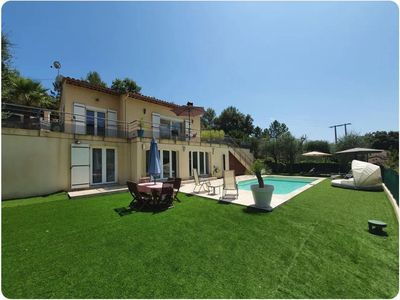 Photo for Bottom of Villa with Pool - New