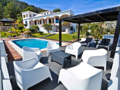 Photo for Luxury Villa with private pool La Herradura