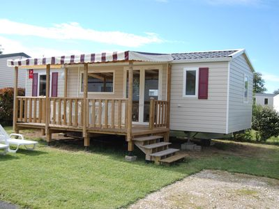 Photo for Dugny-camping mobile home 3ch Dom 4 * Blois fun pass included from april-sept