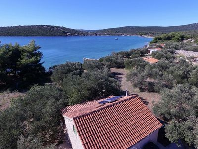 Photo for Simple Cottage, 30 meters from the Adriatic Sea on the beautiful island of Pasman