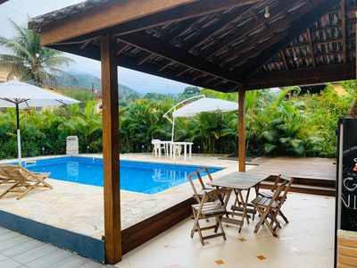 Photo for House in gated community with 4 bedrooms and 3 suites, Ubatuba North Coast.