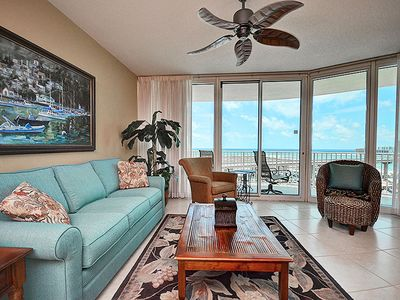 "Photo for NEW! The Best Views at Caribe of Gulf & Bay - 50"" TV - 1PM Check-in Option"