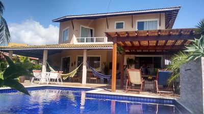 Photo for Beautiful house, 5 bedrooms, swimming pool, Cond Paradise, with children's play area!