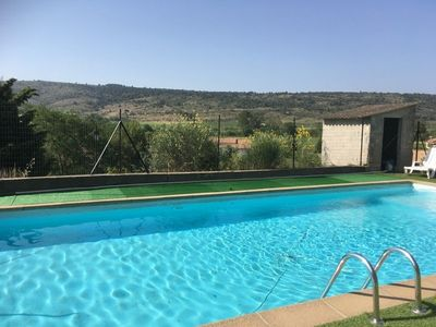 Photo for House 6 to 8 p with pool in the Corbières