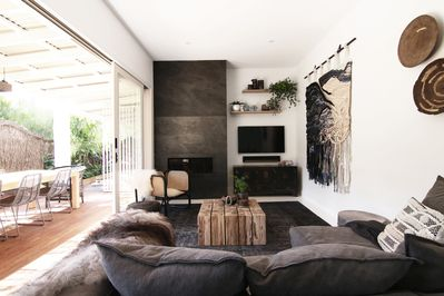 Lounge Room leading onto outdoor deck