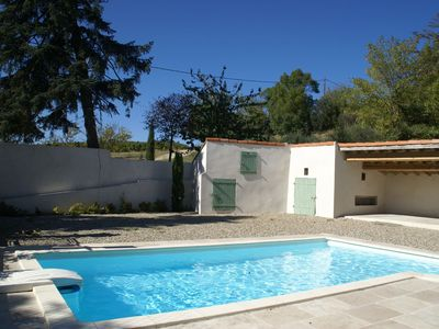 Photo for Spacious Cottage with Swimming Pool in Gaja-et-Villedieu