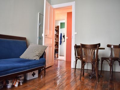 Photo for Large Quiet Parisian Apartment In Lively 11th - One Bedroom Apartment, Sleeps 4