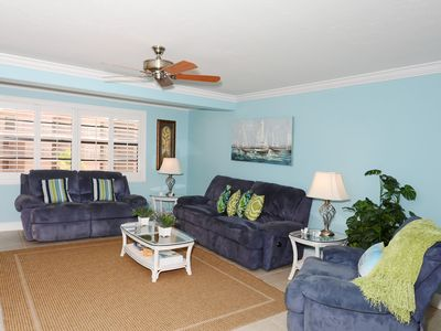 Photo for Experience Paradise in this newly updated 2BR-2BATH at Sea Shell Beach Front Property