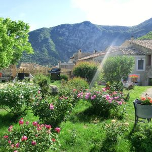 Photo for Cornillon Sur L Oule: Lodging in Provencal village house with garden