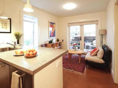 Photo for Brand New Bernal Heights One Bedroom Garden Apartment
