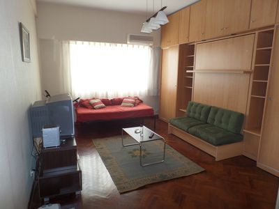 Photo for Arm and cozy studio apartment placed at Recoleta, a traditional neighborhood.