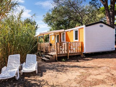 Photo for Camping Le Domaine des Naïades **** - 3-room air-conditioned Villa mobile home 4 people