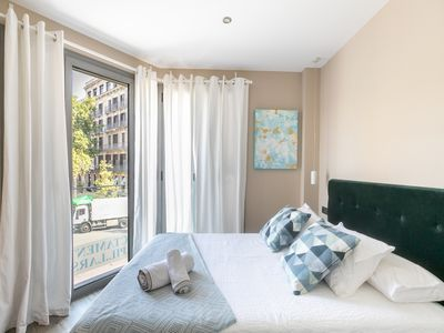 Photo for MODERN & BRIGHT APARTMENT WITH A VIEW FROM THE TERRACE & OPTIONAL PARKING FOR 3