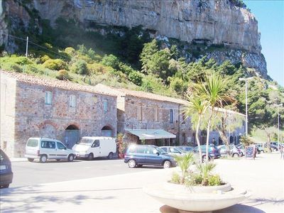 Photo for Enjoy a Sea View while Staying under Cefalu's Spectacular Cliff!