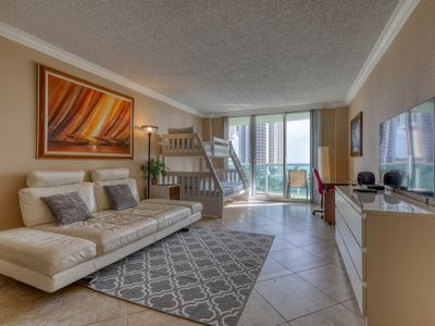 Photo for Modern Condo w/ shared pool, tennis courts, & balcony w/ a view!