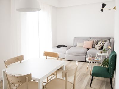 Photo for Apartment 14 10 - design space on the outskirts of Rome, max 6 p. parking space