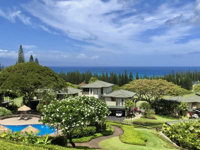 Photo for Luxury Vacation Unit w. Panoramic Ocean View right by the Golf Course in Kapalua