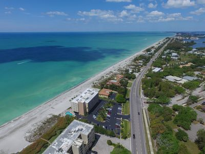 Photo for Stunning Gulf views - Gorgeous, Spacious, Just 5 steps to the sand!