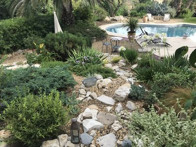 Photo for Elegant Provencal country house in the heart of a large garden