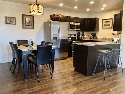 Photo for Check out this COOL, CLEAN, COMFY Condo! Ground floor and shaded by the Moab Rim