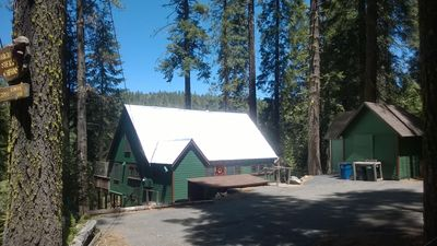 Cabin and Parking