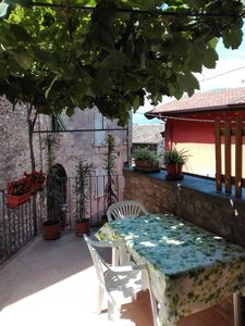Photo for Holiday home with terrace, a few steps from the beach.
