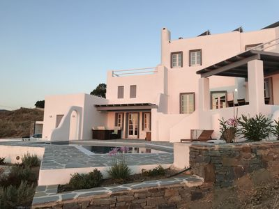 Photo for Villa Lithari with magnificant view (Plaka / Orkos)
